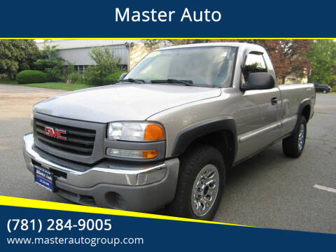 2006 GMC Sierra 1500 for sale at Master Auto in Revere MA