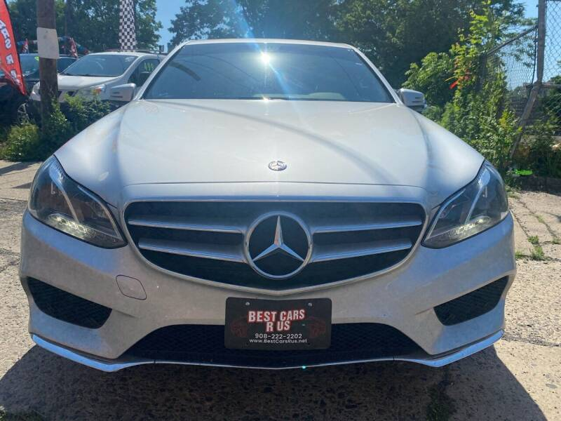2015 Mercedes-Benz E-Class for sale at Best Cars R Us in Plainfield NJ