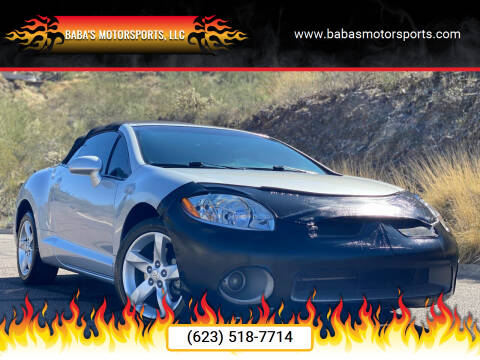 2007 Mitsubishi Eclipse Spyder for sale at Baba's Motorsports, LLC in Phoenix AZ