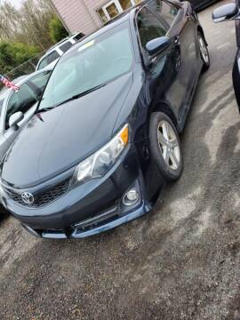 2012 Toyota Camry for sale at Mike's Auto Sales in Westport MA