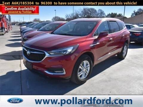 2019 Buick Enclave for sale at South Plains Autoplex by RANDY BUCHANAN in Lubbock TX