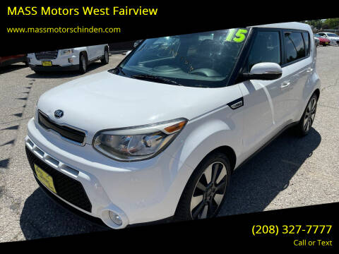 2015 Kia Soul for sale at MASS Motors West Fairview in Boise ID