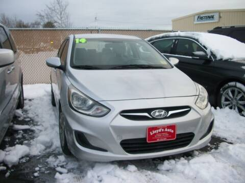 2014 Hyundai Accent for sale at Lloyds Auto Sales & SVC in Sanford ME