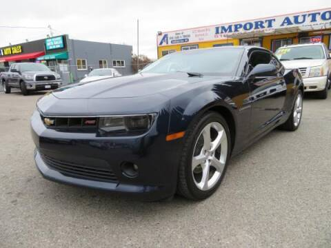 2015 Chevrolet Camaro for sale at Import Auto World in Hayward CA
