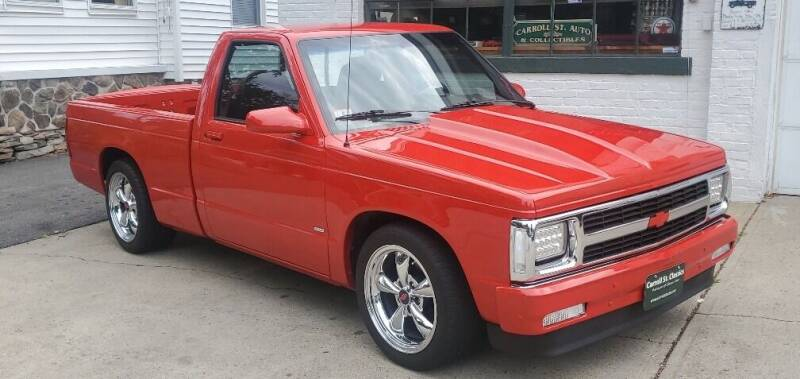 1991 Chevrolet S-10 for sale at Carroll Street Auto in Manchester NH