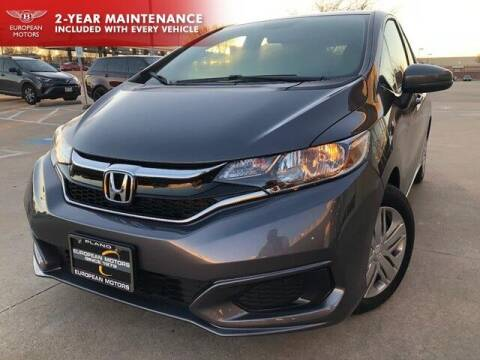 2020 Honda Fit for sale at European Motors Inc in Plano TX