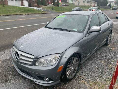2009 Mercedes-Benz C-Class for sale at Trocci's Auto Sales in West Pittsburg PA