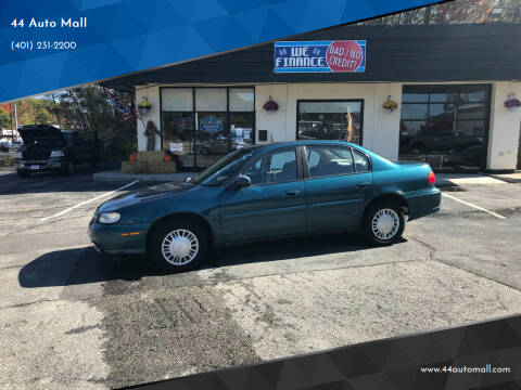 2002 Chevrolet Malibu for sale at 44 Auto Mall in Smithfield RI