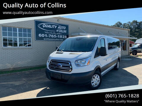 2016 Ford Transit Passenger for sale at Quality Auto of Collins in Collins MS