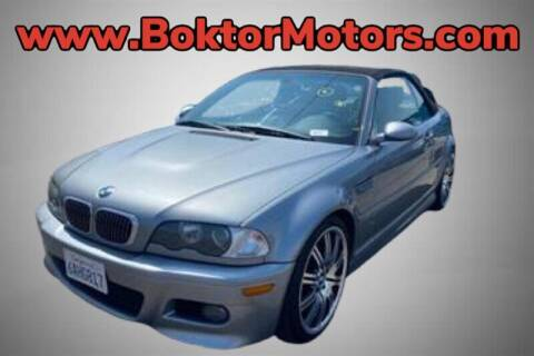 2005 BMW M3 for sale at Boktor Motors in North Hollywood CA