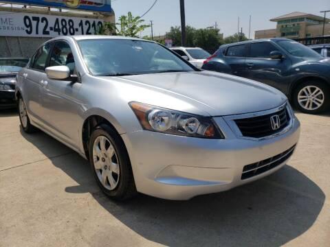 2008 Honda Accord for sale at Best Royal Car Sales in Dallas TX