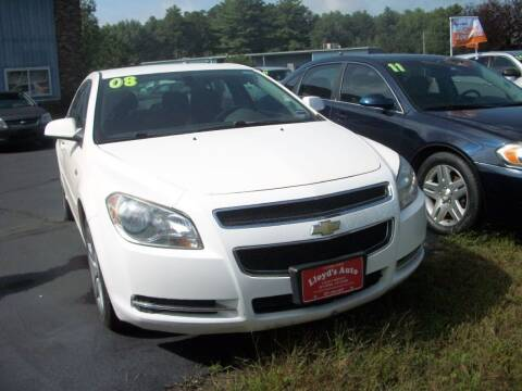 2008 Chevrolet Malibu for sale at Lloyds Auto Sales & SVC in Sanford ME