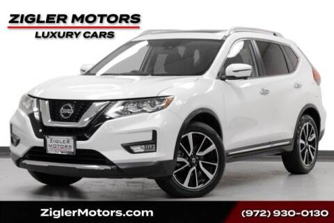 2020 Nissan Rogue for sale at Zigler Motors in Addison TX