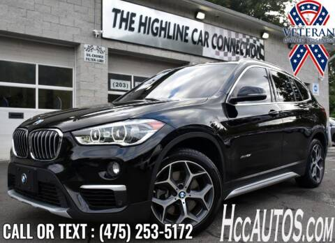 2016 BMW X1 for sale at The Highline Car Connection in Waterbury CT