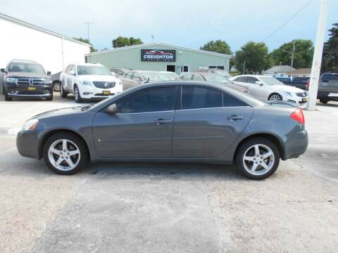 2008 Pontiac G6 for sale at Creighton Auto & Body Shop in Creighton NE