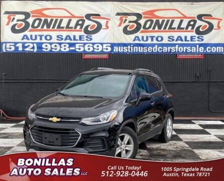 2019 Chevrolet Trax for sale at Bonillas Auto Sales in Austin TX