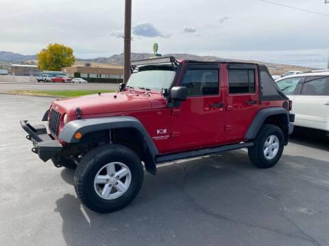 2007 Jeep Wrangler Unlimited for sale at Auto Image Auto Sales in Pocatello ID
