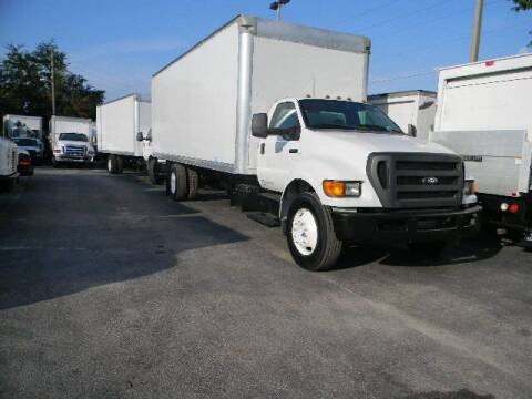 2012 Ford F-750 Super Duty for sale at Longwood Truck Center Inc in Sanford FL