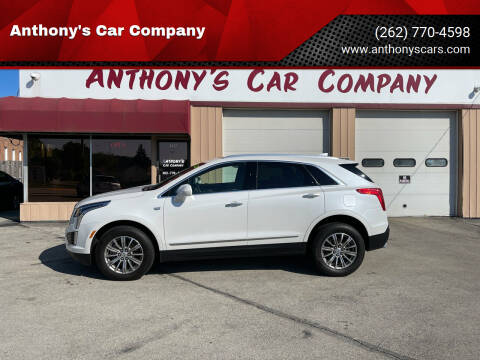 2018 Cadillac XT5 for sale at Anthony's Car Company in Racine WI
