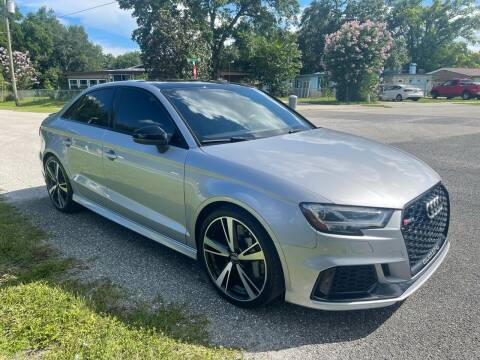 2018 Audi RS 3 for sale at P J Auto Trading Inc in Orlando FL