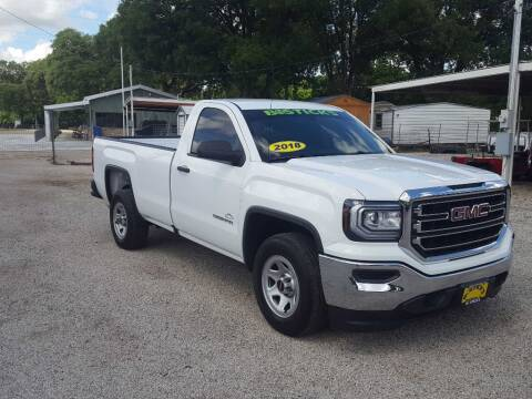 2018 GMC Sierra 1500 for sale at Bostick's Auto & Truck Sales in Brownwood TX