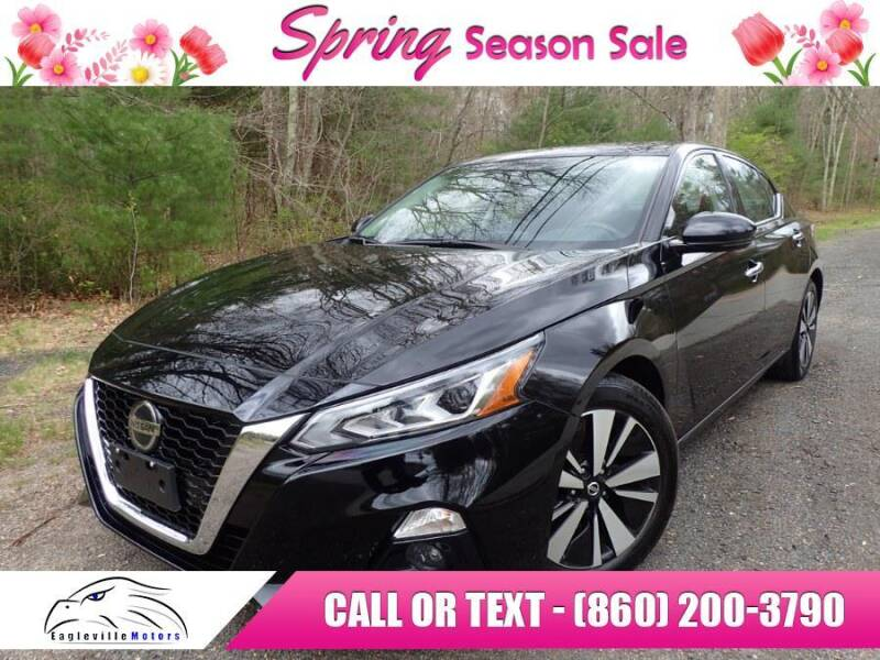 2019 Nissan Altima for sale at EAGLEVILLE MOTORS LLC in Storrs CT