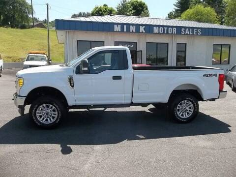 2017 Ford F-250 Super Duty for sale at MINK MOTOR SALES INC in Galax VA