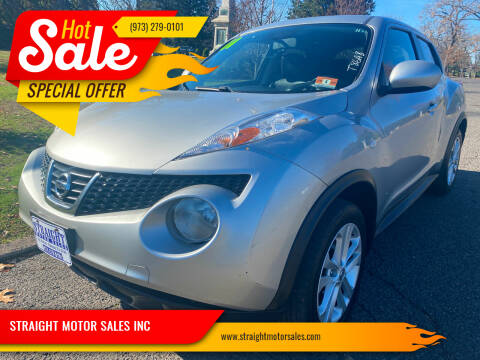 2011 Nissan JUKE for sale at STRAIGHT MOTOR SALES INC in Paterson NJ