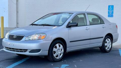 2005 Toyota Corolla for sale at Carland Auto Sales INC. in Portsmouth VA