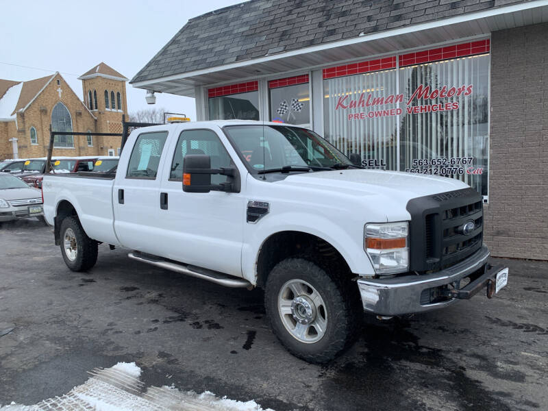 2010 Ford F-350 Super Duty for sale at KUHLMAN MOTORS in Maquoketa IA
