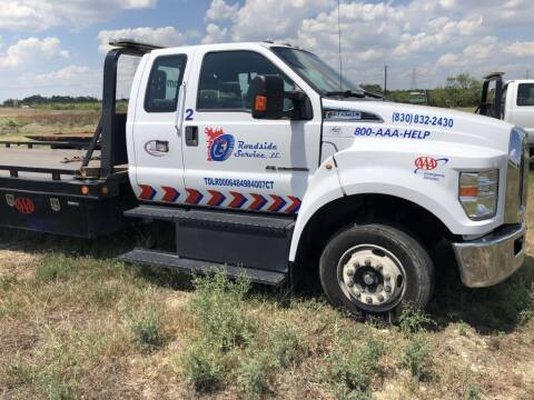 2017 Ford F-650 Super Duty for sale at Big E's Auto Group LC in Marion TX