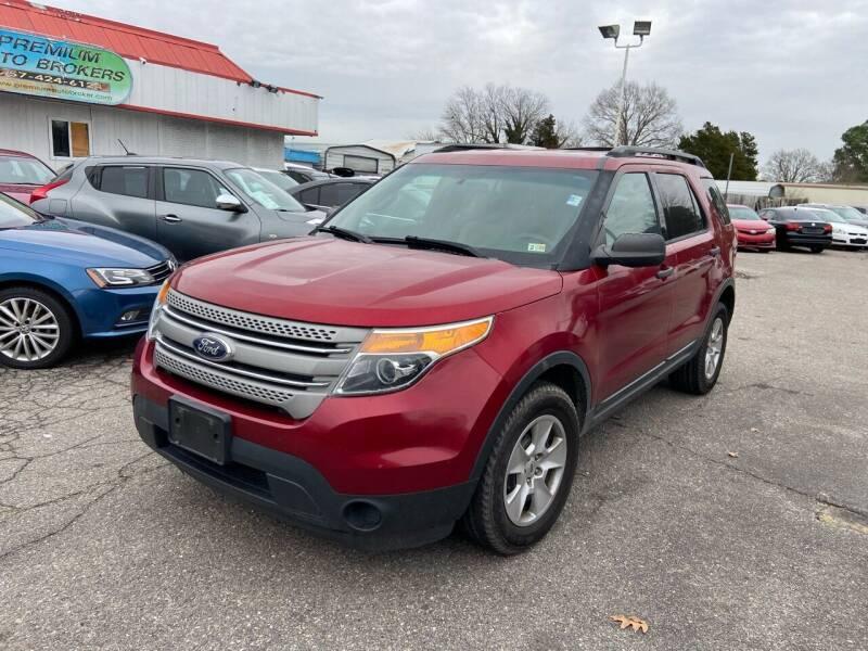 2013 Ford Explorer for sale at Premium Auto Brokers in Virginia Beach VA