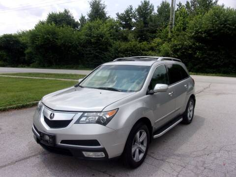 2012 Acura MDX for sale at Auto Sales Sheila, Inc in Louisville KY