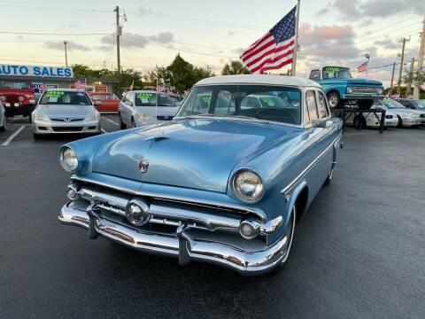 1954 Ford Crestline for sale at KD's Auto Sales in Pompano Beach FL