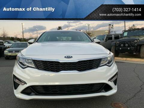 2019 Kia Optima for sale at Automax of Chantilly in Chantilly VA