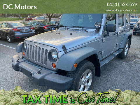 2013 Jeep Wrangler Unlimited for sale at DC Motors in Springfield VA