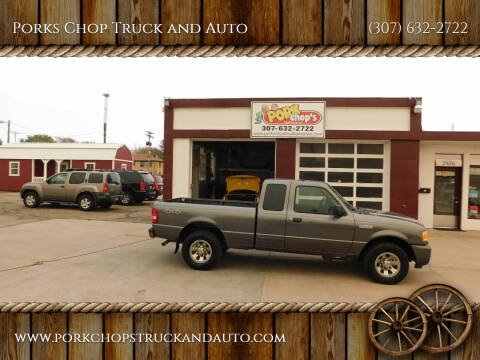 2008 Ford Ranger for sale at Porks Chop Truck and Auto in Cheyenne WY