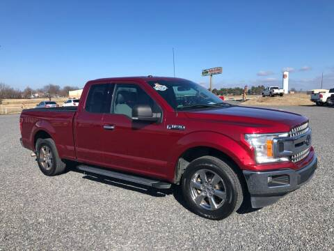 2018 Ford F-150 for sale at RAYMOND TAYLOR AUTO SALES in Fort Gibson OK