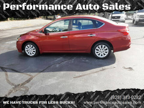 2017 Nissan Sentra for sale at Performance Auto Sales in Hickory NC