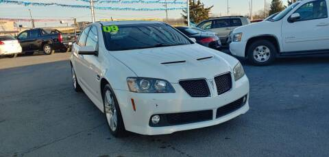 2009 Pontiac G8 for sale at I-80 Auto Sales in Hazel Crest IL