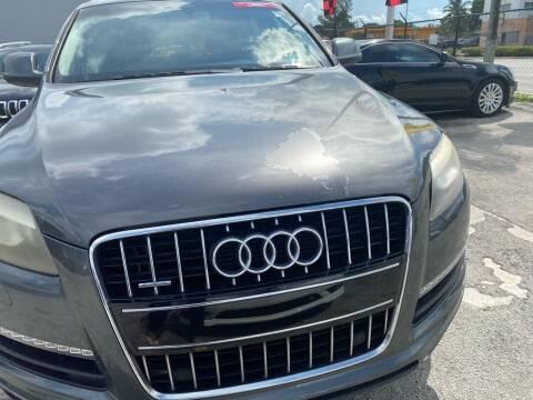 2011 Audi Q7 for sale at America Auto Wholesale Inc in Miami FL