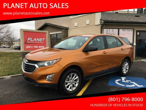 2018 Chevrolet Equinox for sale at PLANET AUTO SALES in Lindon UT