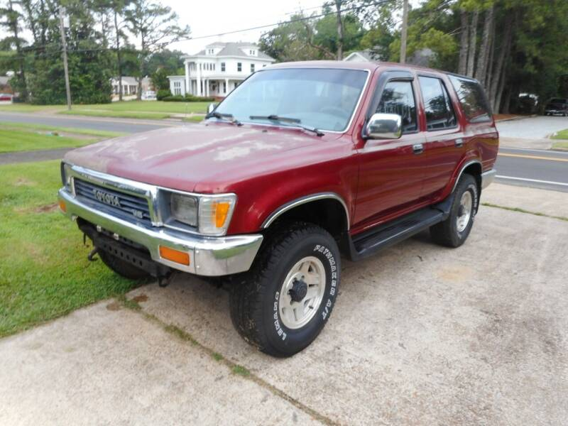 1991 Toyota 4Runner for sale at Cooper's Wholesale Cars in West Point MS