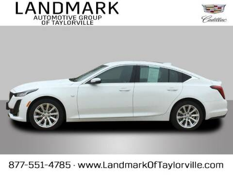 2020 Cadillac CT5 for sale at LANDMARK OF TAYLORVILLE in Taylorville IL