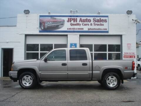 2006 Chevrolet Silverado 1500 for sale at JPH Auto Sales in Eastlake OH