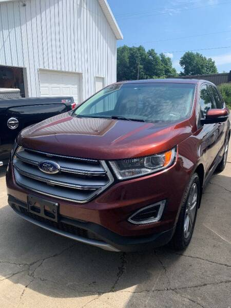 2015 Ford Edge for sale at Hillside Motor Sales in Coldwater MI