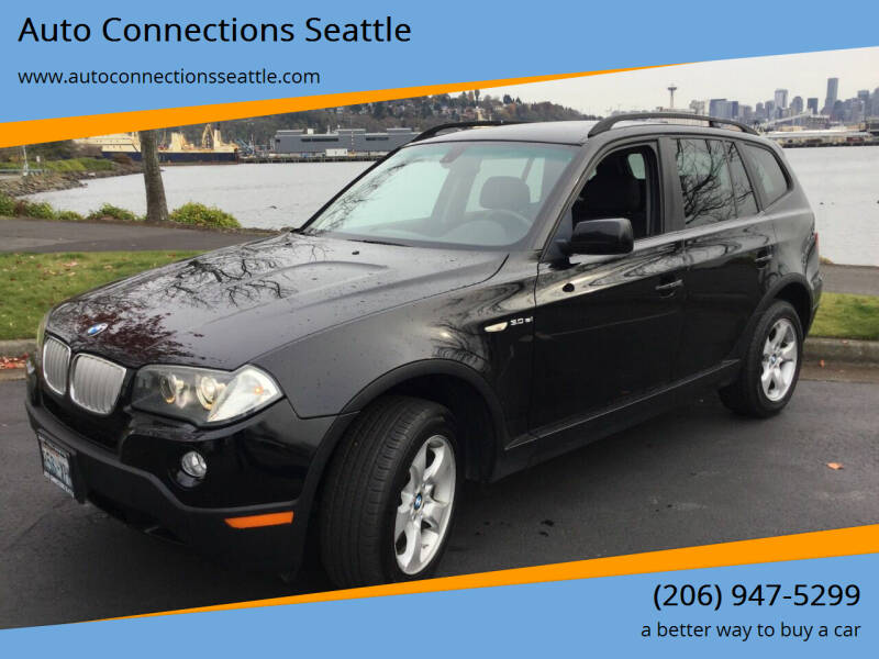 2008 BMW X3 for sale at Auto Connections Seattle in Seattle WA