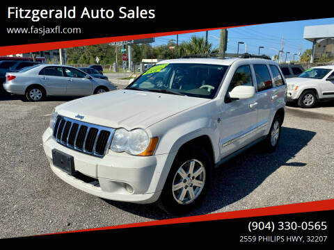 2009 Jeep Grand Cherokee for sale at Fitzgerald Auto Sales in Jacksonville FL