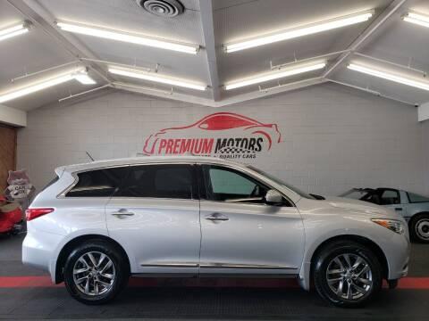 2013 Infiniti JX35 for sale at Premium Motors in Villa Park IL