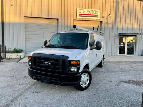 2014 Ford E-Series Cargo for sale at CTN MOTORS in Houston TX